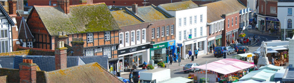 Footfall figures rise across Vale district