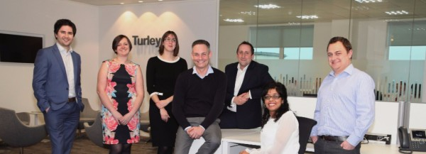 The new Turley team at Reading