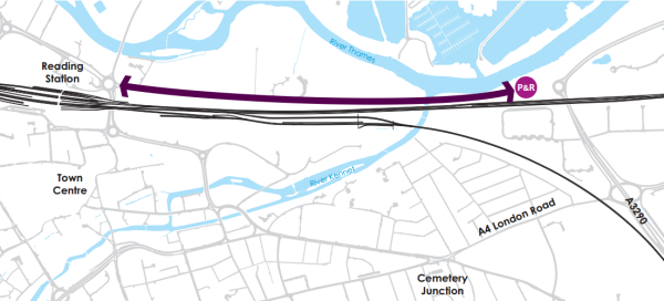 Cllr Tony Page urges feedback on East Reading MRT