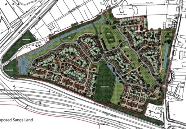 Controversial 254-homes site deferred