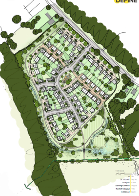 Gallagher Estates plans 95 homes in Sonning Common