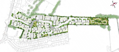 Bellway and Archstone plan 68 homes at Cholsey
