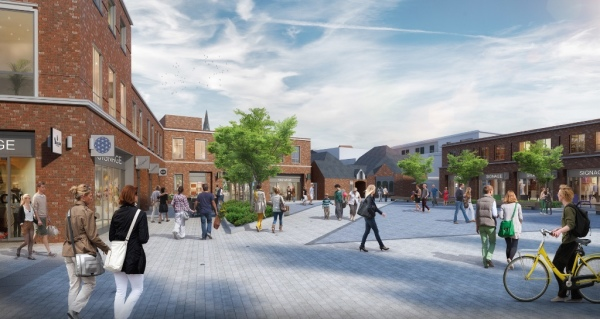 Dawnus Construction appointed for Peach Place, Wokingham