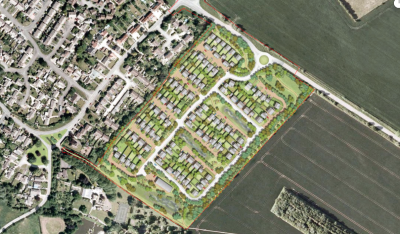 Plans for 120 homes at Chalgrove refused