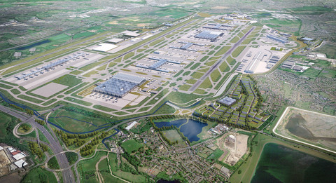 Logistics hubs plan to serve Heathrow