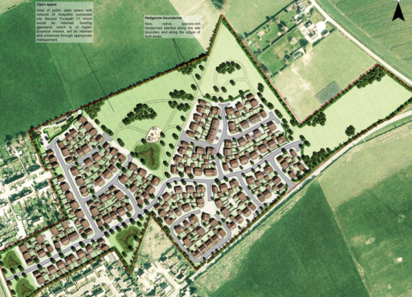 240 homes planned for Benson