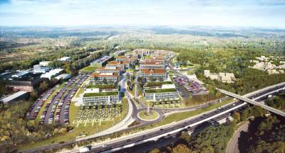 850,000 sq ft Longcross Park launched