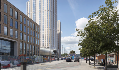 343 flats and 170-bed hotel plan for Station Square, Slough