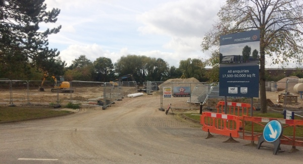 New warehouse development on course for May 2018 completion