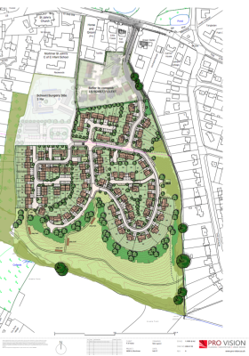 Plans submitted for 110 homes at Mortimer