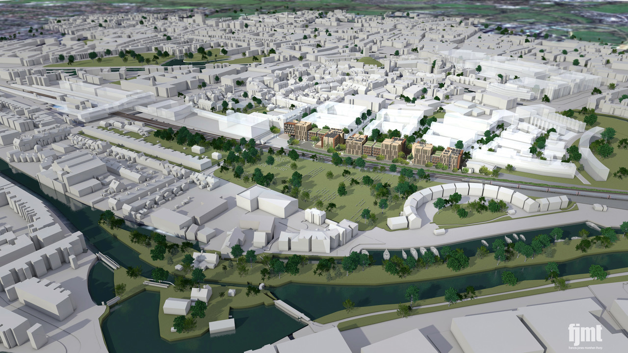 Search launched for development partner for Oxpens site
