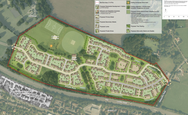 500 homes plan for Oxford Brookes University's Wheatley campus