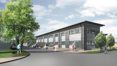 36,000 sq ft scheme approved at Grove Business Park