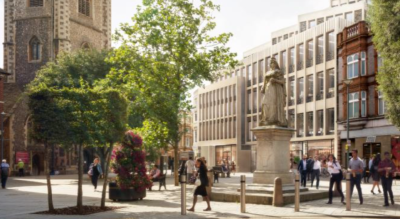 Plans submitted for Bristol & West arcade in Reading