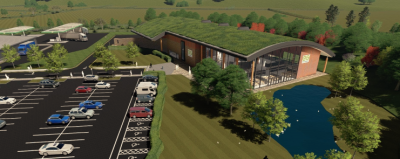 Motorway services, offices and warehouse scheme refused