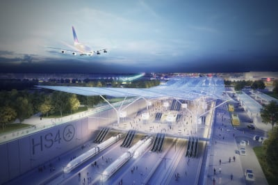 Proposed railway would link Heathrow with Gatwick