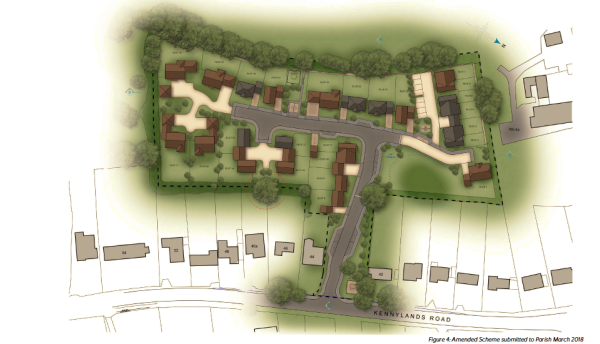 Consultation helps shape new plans for homes in Kennylands Road