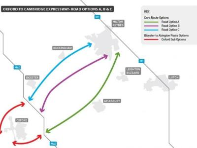 Oxford to Cambridge Expressway route announced