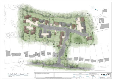 Plans approved for 25 homes at Sonning Common