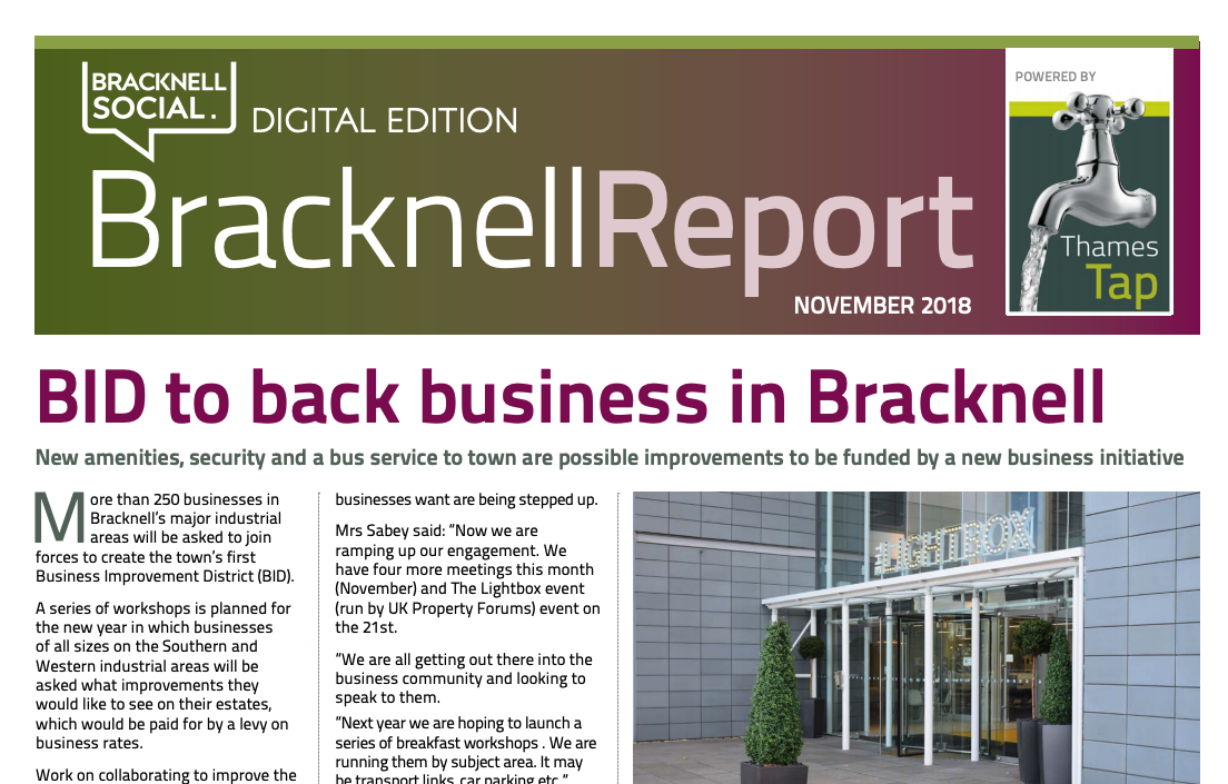 Download our Bracknell Report here