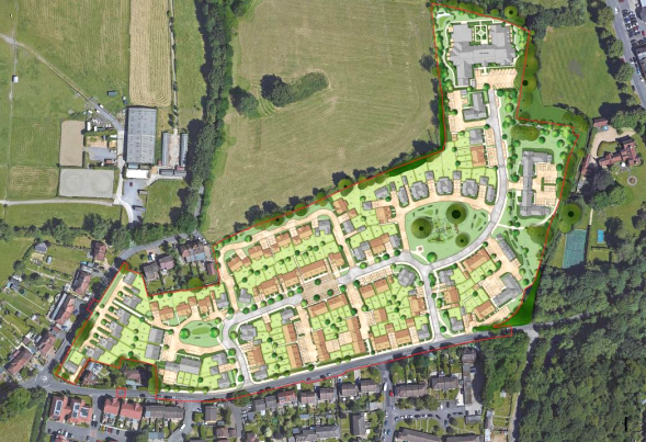 148 homes approved in Guildford's Green Belt