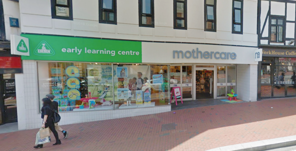 Mothercare closures in the Thames Valley