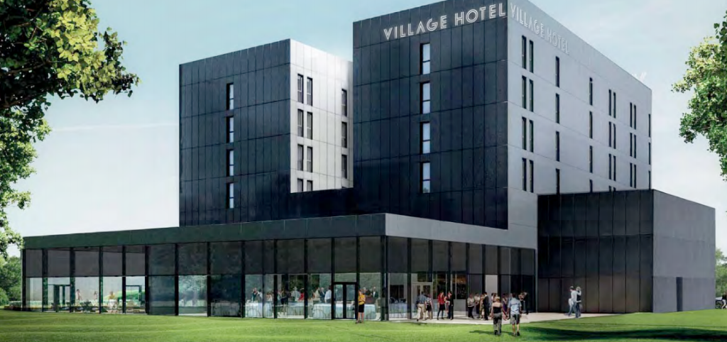 Hotel plan recommended for approval