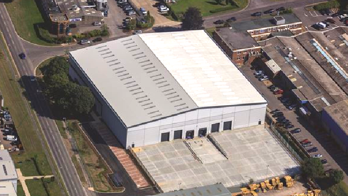 50,000 sq ft warehouse let to Laleham Health & Beauty